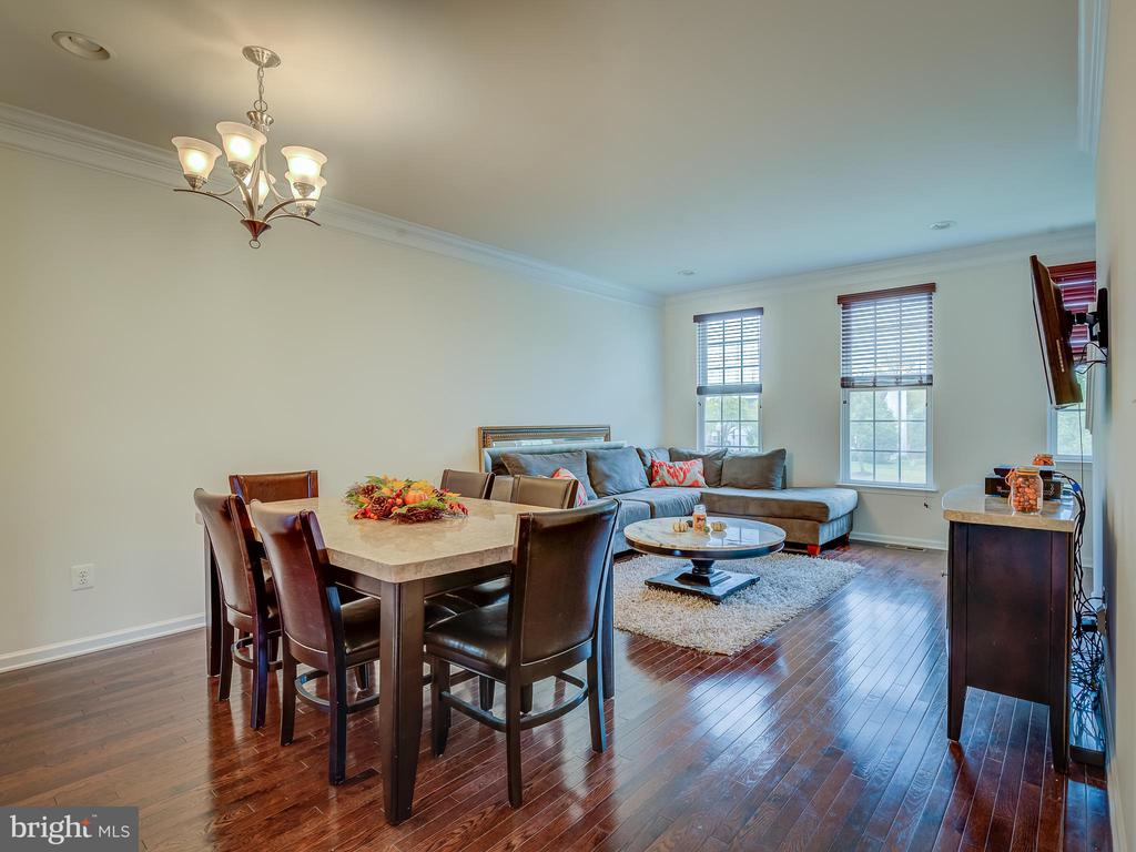 LIVING / DINING ROOM OPEN - 43092 CENTER ST #4G, CHANTILLY