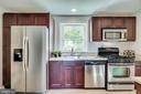 Stainless steel appliances in the kitchen - 225 GUTHRIE AVE, ALEXANDRIA