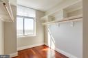 Master Bedroom Walk in closet - 11990 MARKET ST #1112, RESTON
