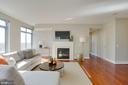 Living Room - 11990 MARKET ST #1112, RESTON