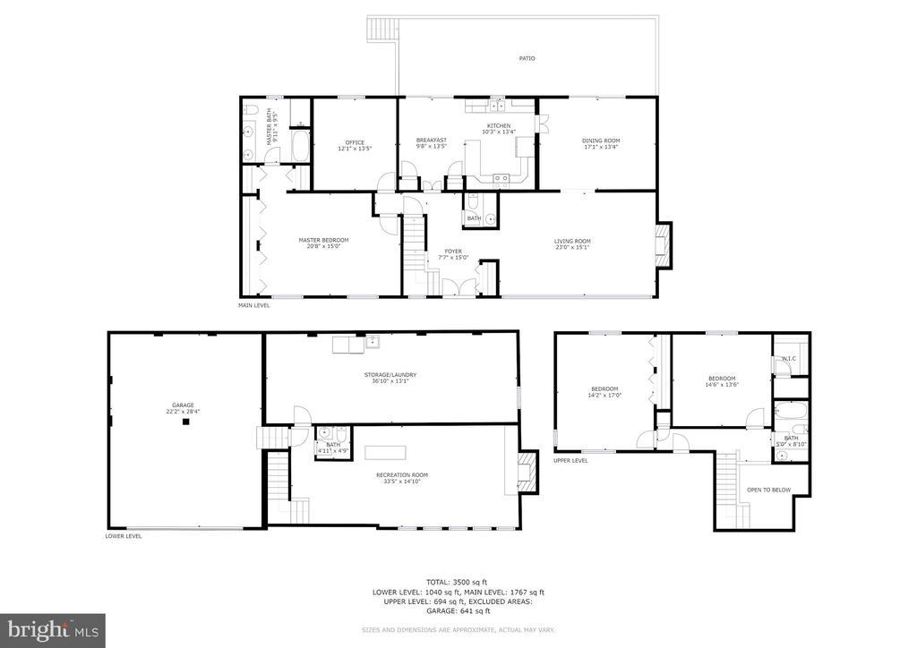 Floor Plans - 4008 38TH PL N, ARLINGTON