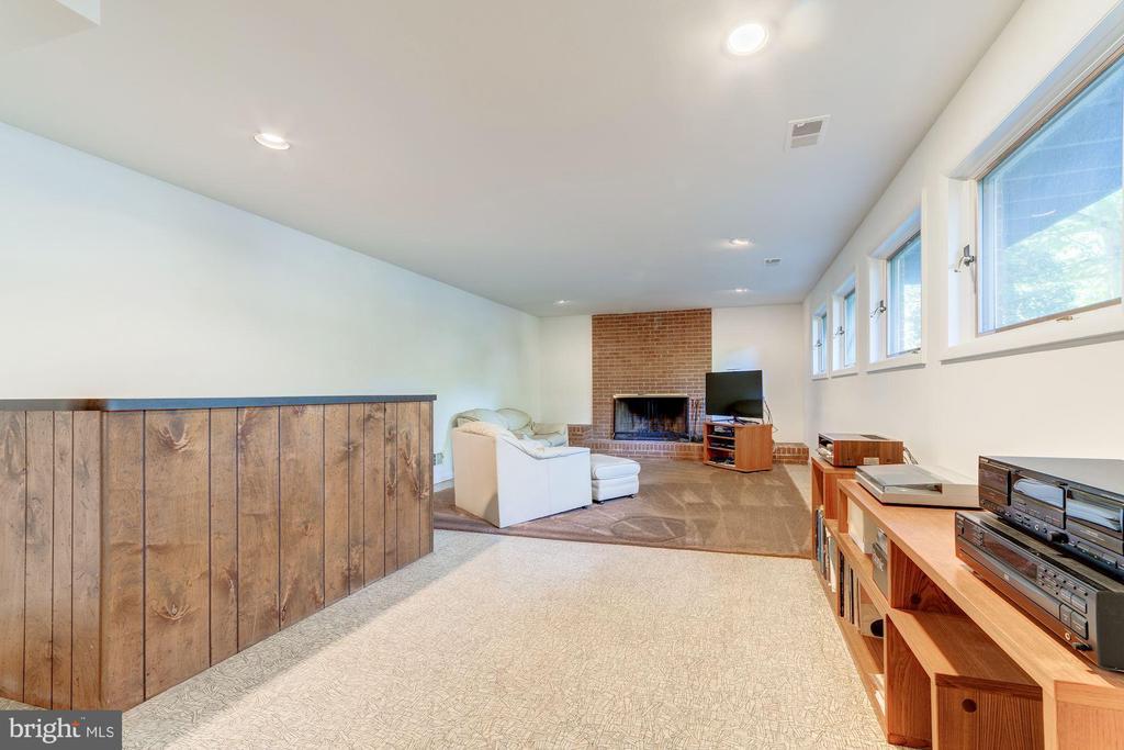 Lower Level Recreation Room - 4008 38TH PL N, ARLINGTON
