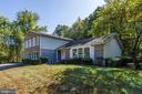 Park land in the back and on the side! - 1209 GOTH LN, SILVER SPRING