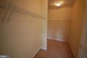 walk-in closet - 106 ROY CT SE, LEESBURG