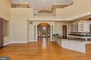 Two story family room - filled with sunlight! - 10035 PEBBLE BEACH TER, IJAMSVILLE