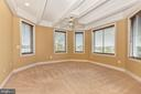 Master bedroom area - beautiful designer touches. - 10035 PEBBLE BEACH TER, IJAMSVILLE