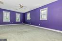 Second upper level bedroom with full private bath. - 10035 PEBBLE BEACH TER, IJAMSVILLE