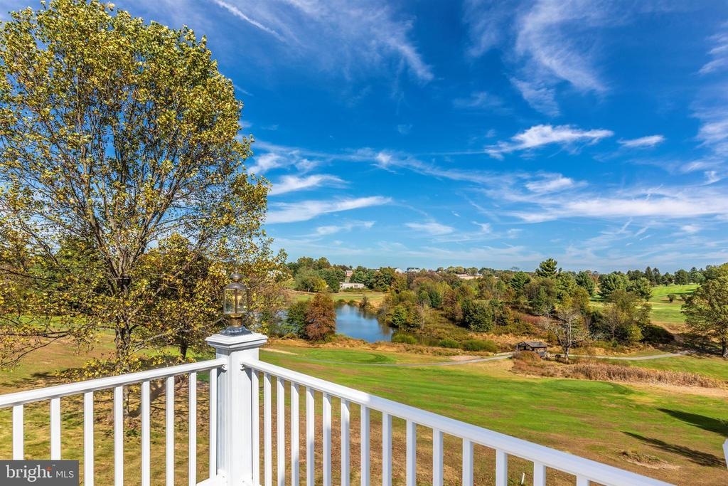 Breathtaking view from master suite private deck. - 10035 PEBBLE BEACH TER, IJAMSVILLE