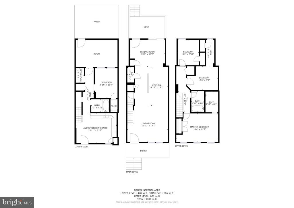 Floor Plans - 2807 6TH ST NE, WASHINGTON