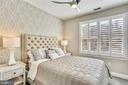 Fourth bedroom w/plantations shutters - 616 FIREHOUSE LN, GAITHERSBURG