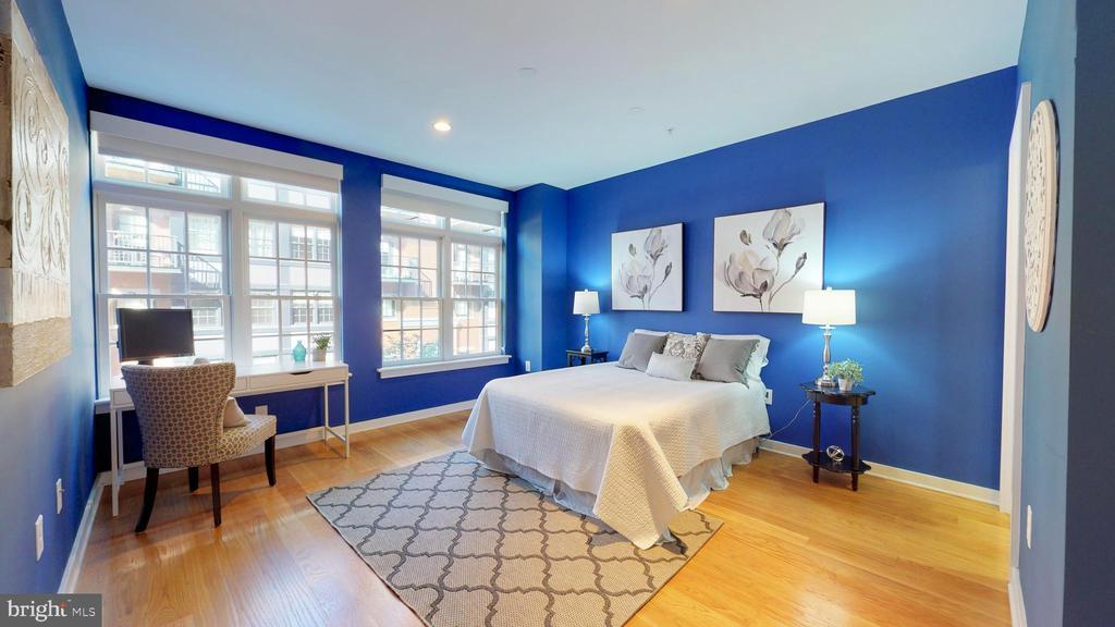 Huge Master Bedroom With Wall Of Windows - 1610 N QUEEN ST #243, ARLINGTON
