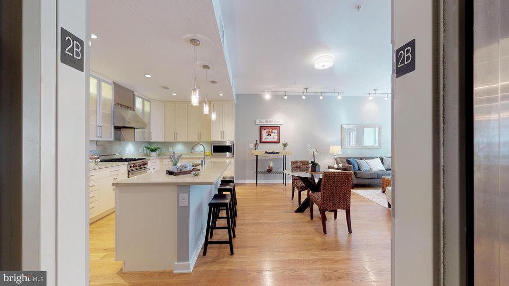 Elevator Opens Right In Your Home! - 1610 N QUEEN ST #243, ARLINGTON