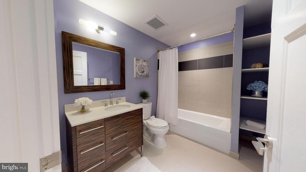 Second Full Bath Is Also Gorgeous - 1610 N QUEEN ST #243, ARLINGTON