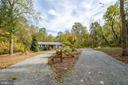 Nestled on a 10 acre private lot - 17970 GORE LN, LEESBURG