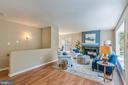 Gorgeous Renovated Living Room - 17970 GORE LN, LEESBURG