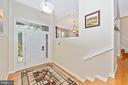Large foyer - 9706 WOODLAKE PL, NEW MARKET