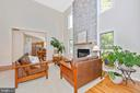 Well appointed living area - 9706 WOODLAKE PL, NEW MARKET