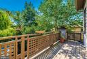 Deck off owner's suite - 9706 WOODLAKE PL, NEW MARKET