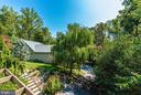 Gorgeous views! Look at that weeping willow! - 9706 WOODLAKE PL, NEW MARKET