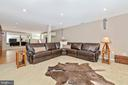 Entertainment area - 9706 WOODLAKE PL, NEW MARKET