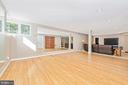 Game area or workout space fully mirrored - 9706 WOODLAKE PL, NEW MARKET