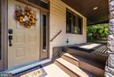 Covered front and wrap around deck - 9706 WOODLAKE PL, NEW MARKET