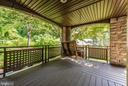 Gorgeous covered decks - 9706 WOODLAKE PL, NEW MARKET