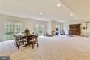 Lower Level Recreation Room - 41728 WAKEHURST PL, LEESBURG