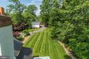 Lovely level rear yard - 3812 MILITARY RD, ARLINGTON