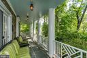 Relaxing front veranda - 3812 MILITARY RD, ARLINGTON