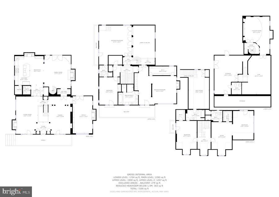 Combined Floor Plan - 3812 MILITARY RD, ARLINGTON