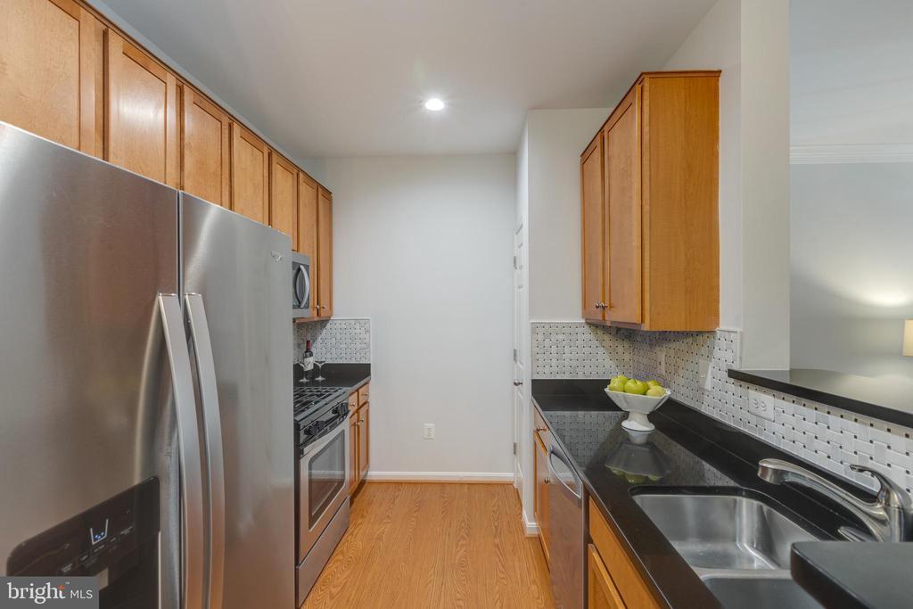 Galley Kitchen w/Stainless Appliances - 4850 EISENHOWER AVE #123, ALEXANDRIA