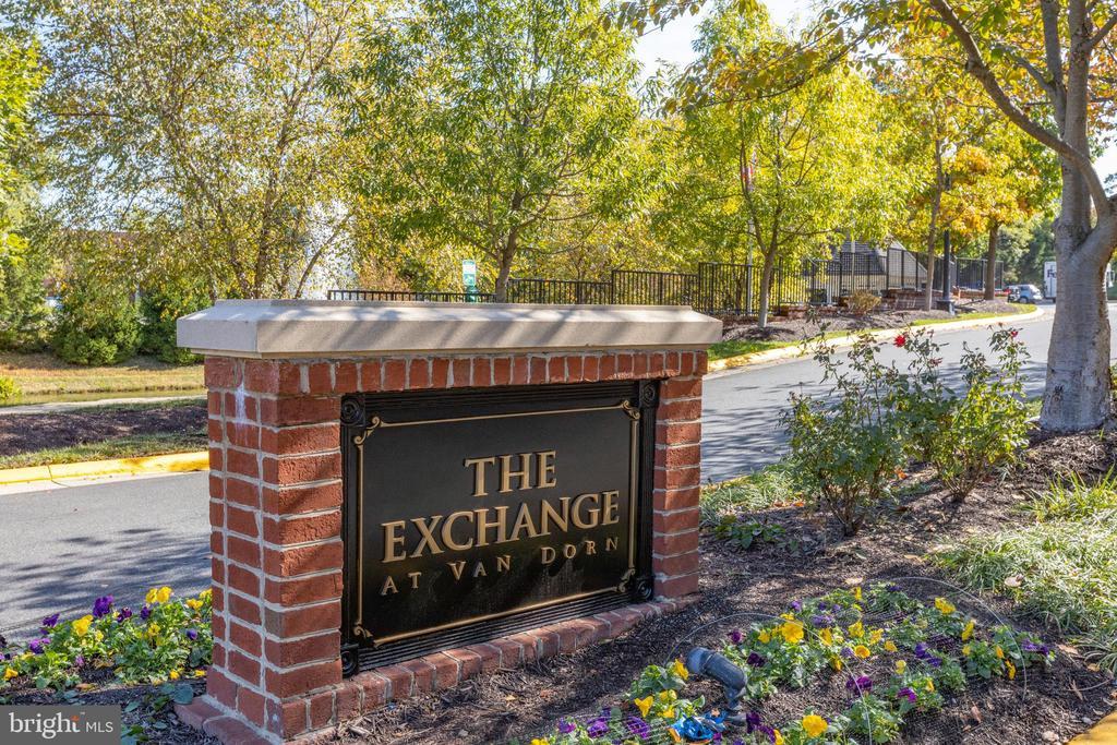 The Exchange at Van Dorn Entrance - 4850 EISENHOWER AVE #123, ALEXANDRIA