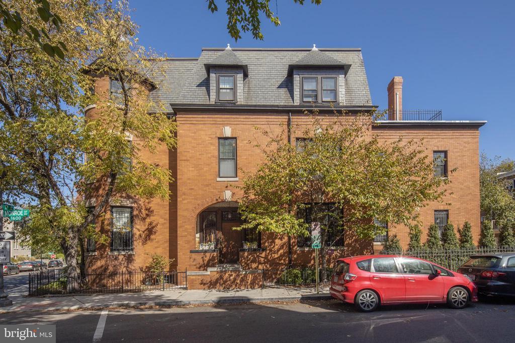 Exterior - 1667 MONROE ST NW, WASHINGTON