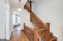 Stairway to Third Story - 1667 MONROE ST NW, WASHINGTON