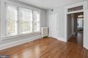 Secomd Bedroom - 1667 MONROE ST NW, WASHINGTON