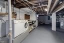 Basement with Laundry - 1667 MONROE ST NW, WASHINGTON