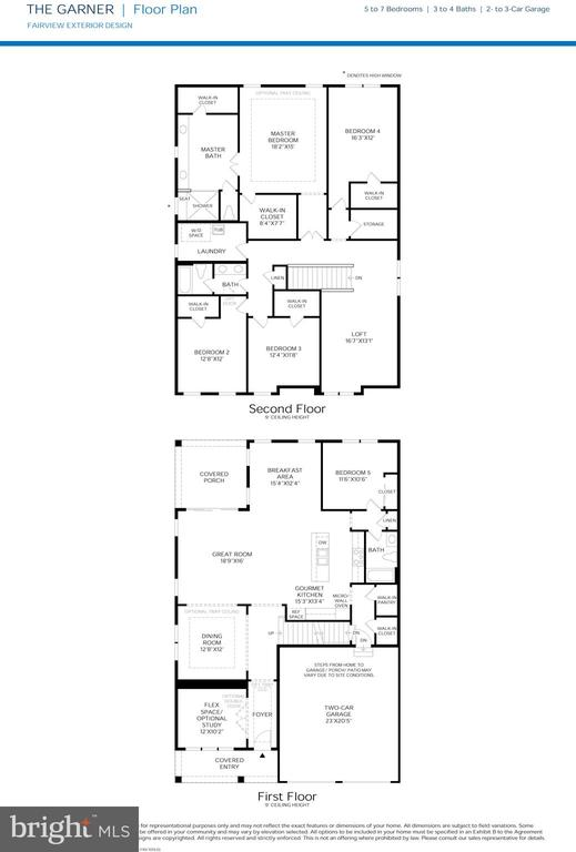 Garner Floor Plan - 3192 CAVALIER WOOD RD, ELLICOTT CITY