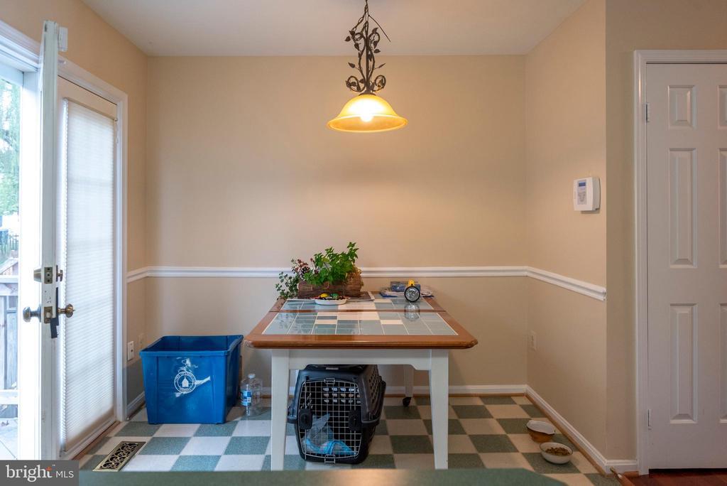 Breakfast Room - 1023 SMARTTS LN NE, LEESBURG