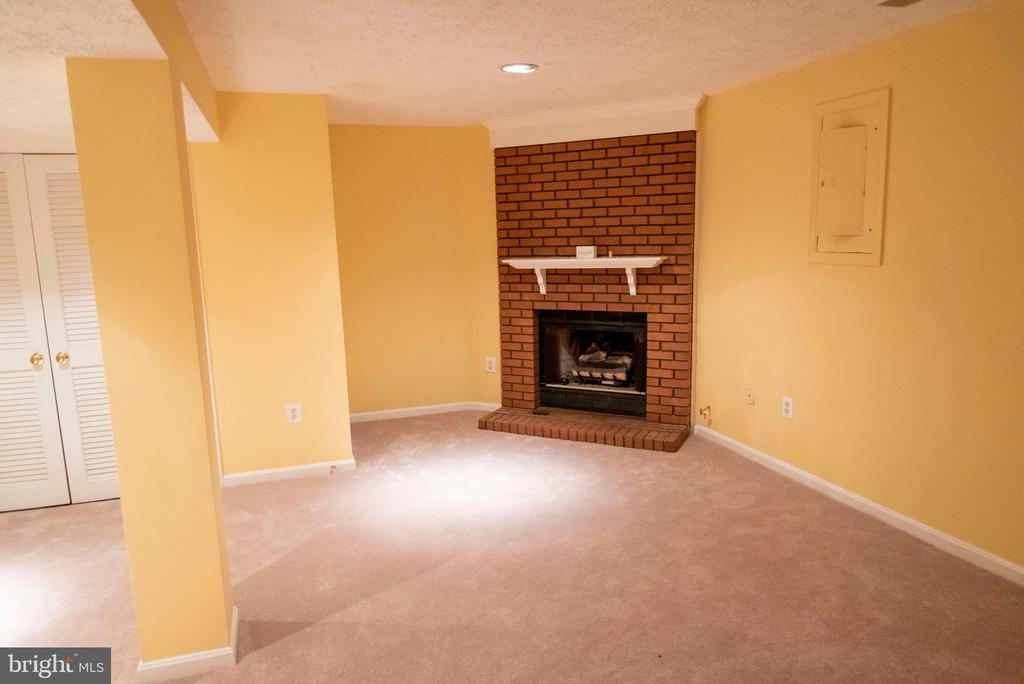 Lower Level Family Room - 1023 SMARTTS LN NE, LEESBURG