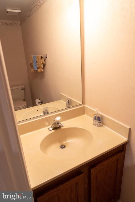 Lower Level Powder Room - 1023 SMARTTS LN NE, LEESBURG