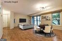 with virtual staging - 2100 LEE HWY #224, ARLINGTON