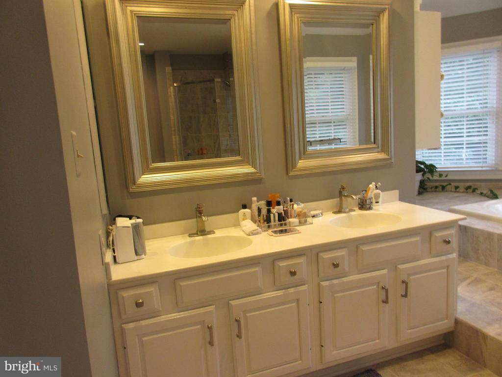 Double vanity in Master Bath - 10731 HUNTERS PL, VIENNA