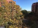 View from the balcony - 1111 ARLINGTON BLVD #542, ARLINGTON