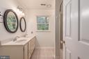 Hall Bathroom - 8012 PEMBROKE CIR, SPOTSYLVANIA