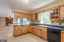 Kitchen View - 8012 PEMBROKE CIR, SPOTSYLVANIA