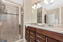 Owner's suite bath - 251 KNOTTY ALDER CT, WOODSBORO