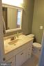 Master Bath - w/ tub/shower - 9083 BLUE JUG LNDG, BURKE