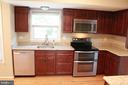 Renovated kitchen,  granite counters - 9083 BLUE JUG LNDG, BURKE