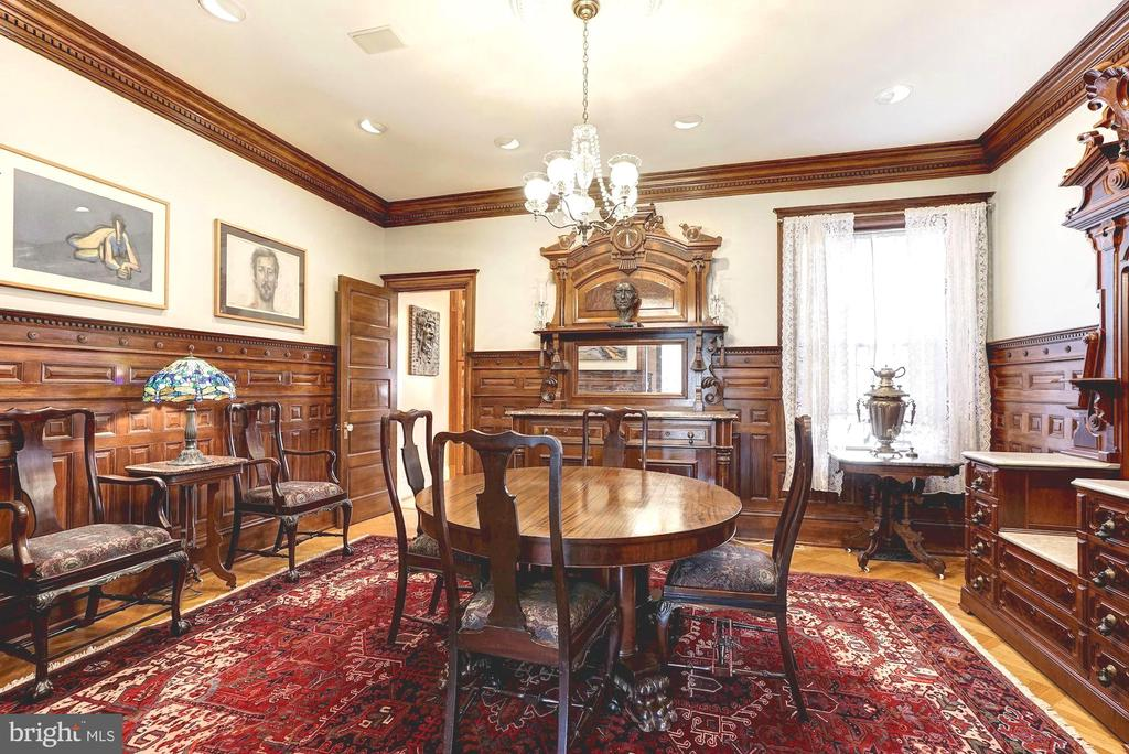 First floor formal dining room - 1923 S ST NW, WASHINGTON
